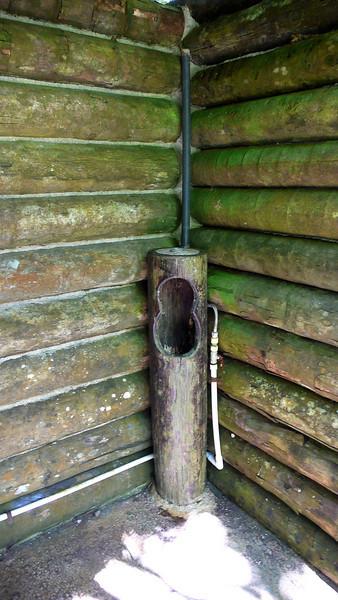 Men's Room, Puerto Limon, Costa Rica; Bucuare Jungle Haven,