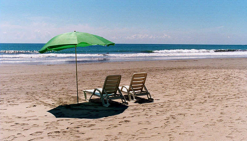 Beach just outside Manuel Antonio National Park Costa Rica