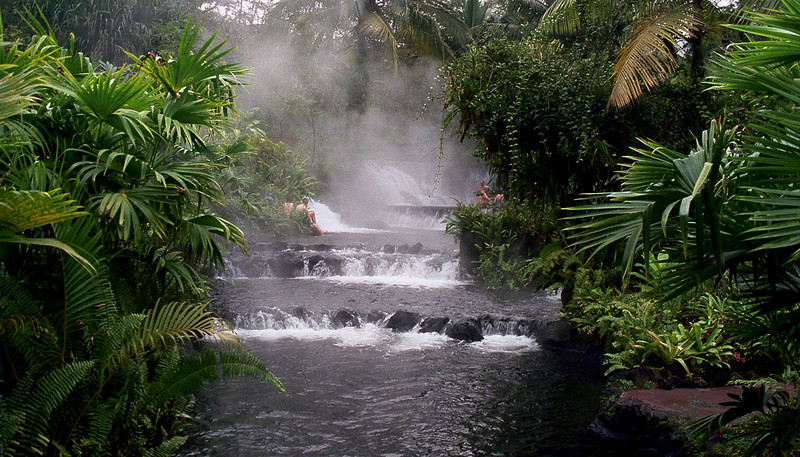 Tabacon Costa Rica  Arenal Hot Springs