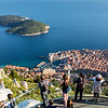 Old Town Dubrovnik as seen from top of Gondola