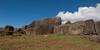 Ahu Vinapu - Ruins of the ceremonial centre.