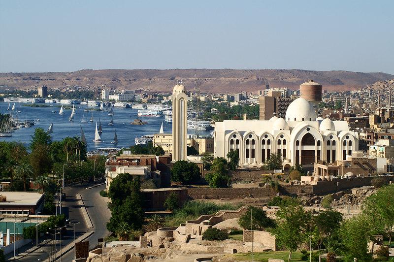 Coptic church in Aswan