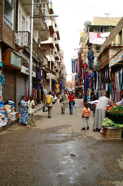Typical Luxor Street