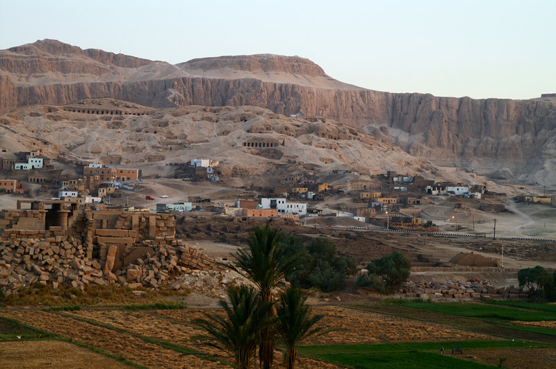 Old Gurna near the Valley of the Kings