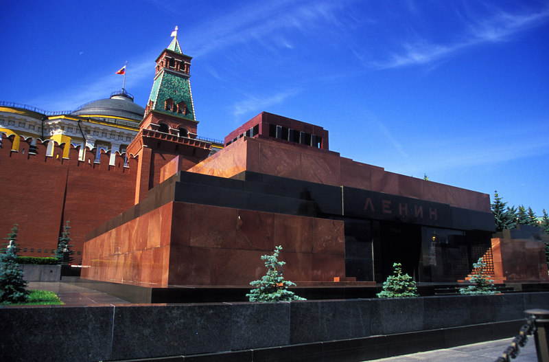 Moscow - Red Square<br /> Lenin's Mausoleum