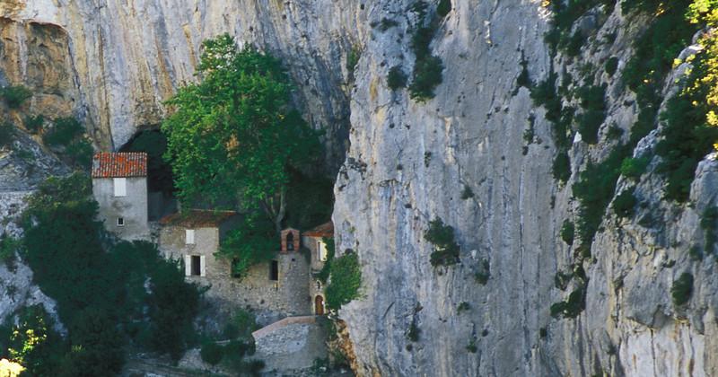 Galamus Gorge - Hermitage of Saint Antoine