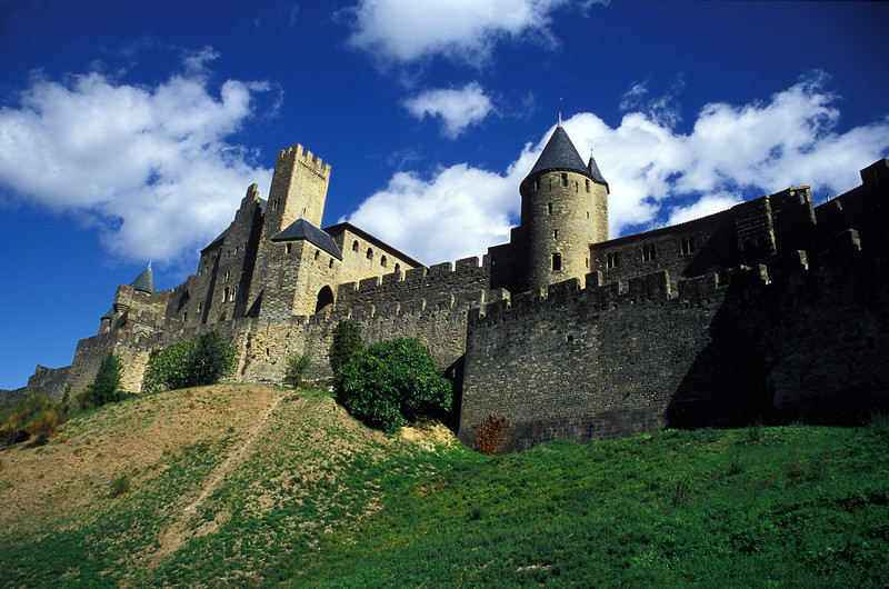 Carcassonne - The Castle of the Counts