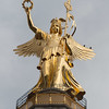 Berlin - Victoria statue on the top of the Victory Column.