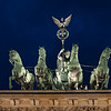 Berlin - Quadriga on Brandenburg Gate.