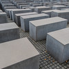 Berlin - Memorial to the Murdered Jews of Europe.