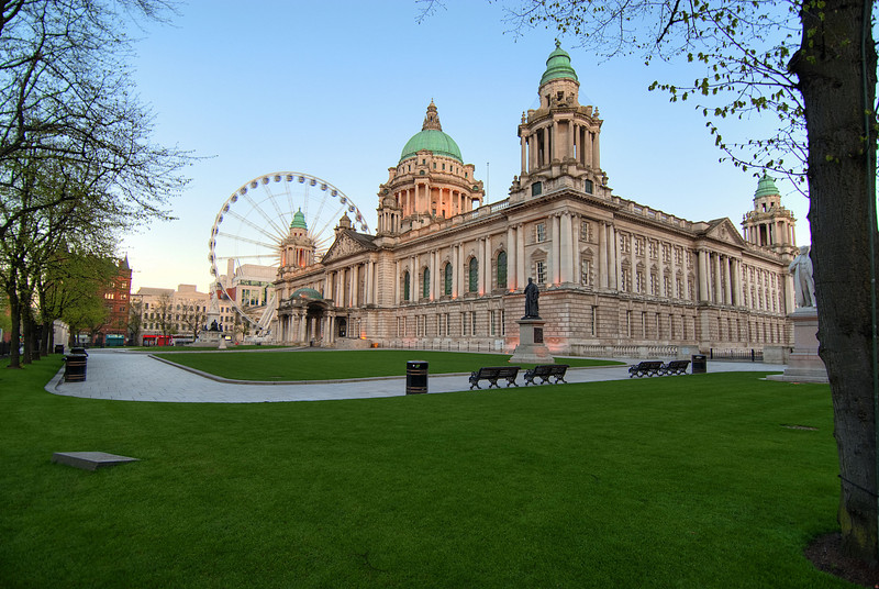 Belfast - City Hall.