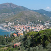 Levanto - View from the trail.
