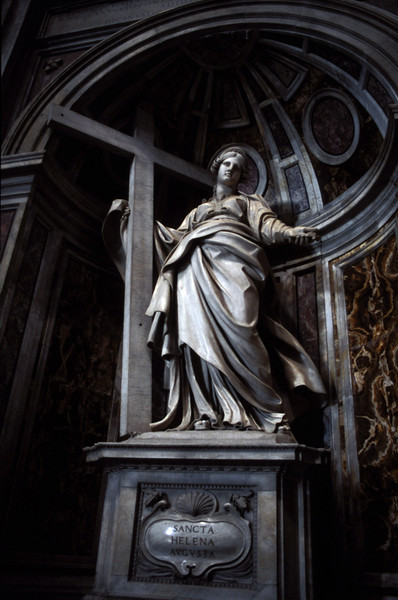 St. Helena Statue in St. Peter's