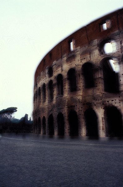 Slide montage of the colosseum.