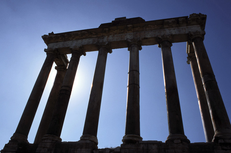 The Temple of Saturn.