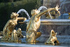Paris - Palace of Versailles - Latona's Fountain.