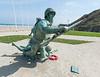 Vierville-sur-Mer - Omaha Beach - Soldier Memorial.