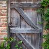 Sissinghurst - Old door.