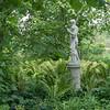 Sissinghurst - Statue of the Greek god Dionysus.