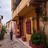 Typical Athens Street Near the Roman Agora
