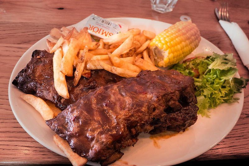 Another lunch   ribs!