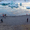Panorama at Glacier Lagoon