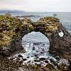 Rock arch near Arnarstapi