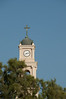 Jaffa - Clock tower of Saint Peter's Church.