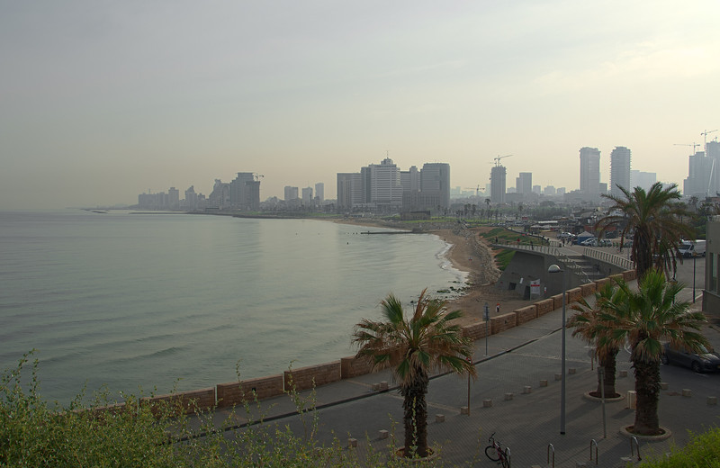 Tel Aviv - Waterfront in the morning.