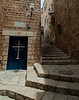 Jaffa - St Michael's Greek Orthodox Church entrance.