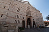 Nazareth - Church of the Annunciation.  This church is on the location where, Roman Catholics believe, Mary was told she was pregnant.