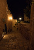 Jaffa at night.