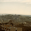 Looks like Bethlehem as seen from Jerusalem.