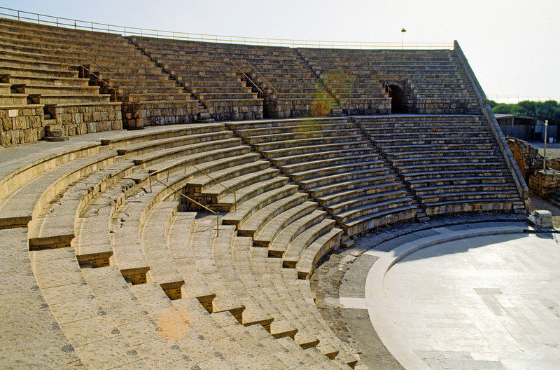 Caesarea,theater still in use today