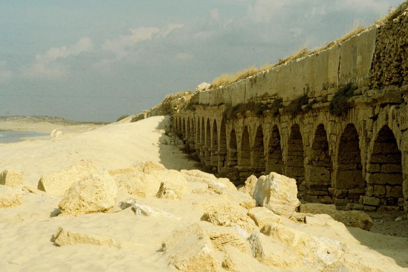 Caesarea, Aqueduct 1990