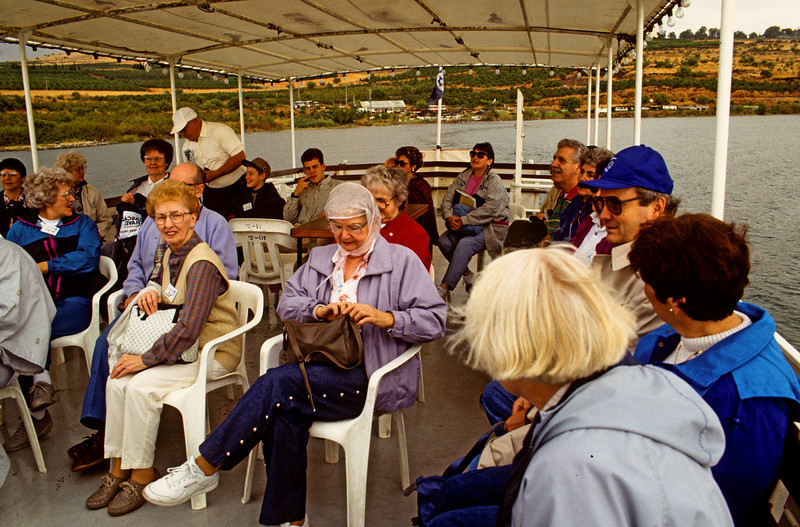 My second trip, two years later, was with 35 Christian people.  This is how they enjoyed their ride on the Lido.