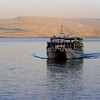 The Lido, boat we sailed on the Sea of Galilee.