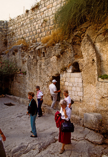 The Garden tomb of Christ, 1992