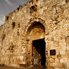 Zion Gate<br /> <br /> Providing access to Mt. Zion, this gate bears the marks of the Arab and Israeli battles in the 1948 War of Independence.