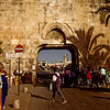 Gate of the Moors or Dung Gate (Arabic: Bab al-Magharibeh - Hebrew: Sha'ar Ashphoth). This gate is known by different names