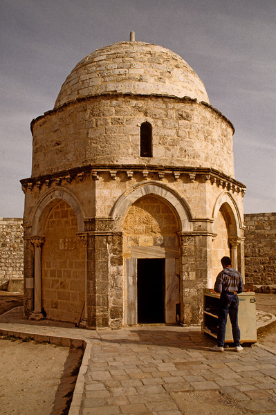 Church of the Ascension, top of the Mount of Olives.