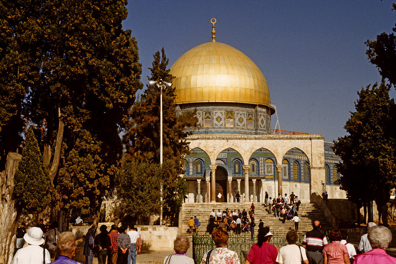Dome of the Rock.