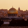 Dome of the Rock as seen from the Mount of Olives.