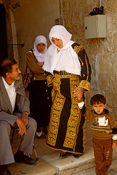 Palestinian Arab woman.