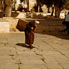 Old man on the temple mount.