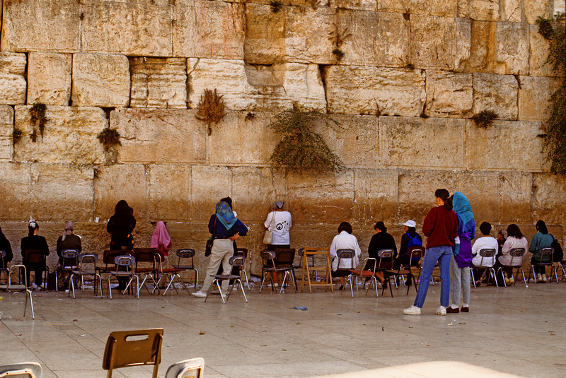 Women's side of the Western Wall 1992
