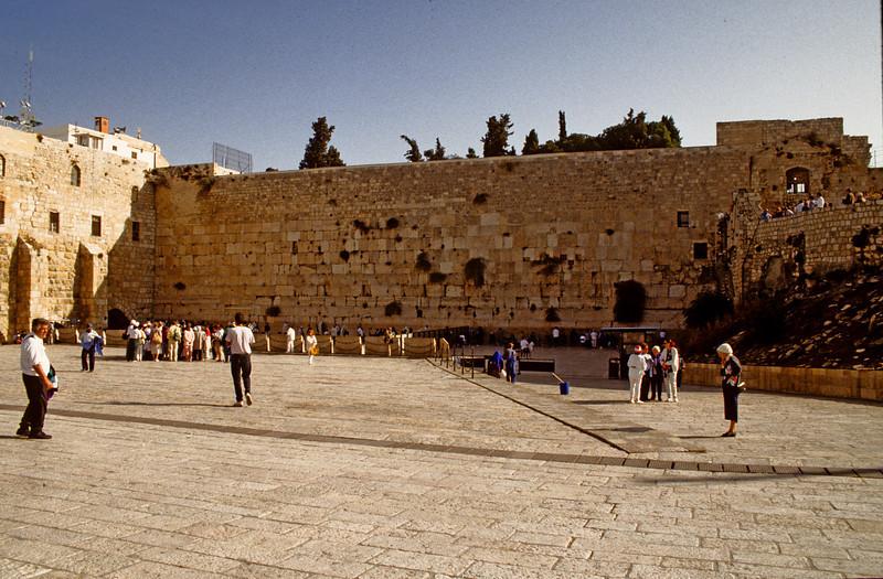 Western Wall 1990