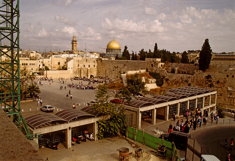 Entrance to the Western Wall 1992