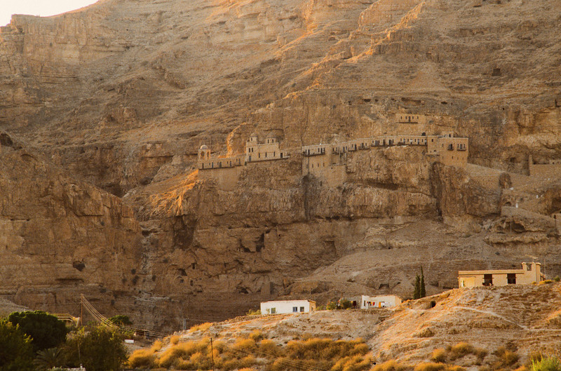 Monastery near the peak of the Mt. of the Transfiguration.