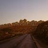 Settlements built by Israelis in the West Bank Desert.